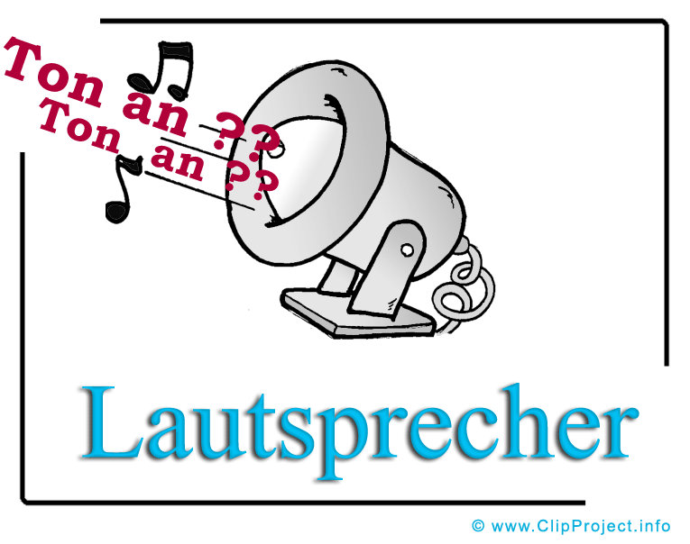 ClipartLautsprecher 3